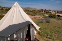 Dana - unser Zelt