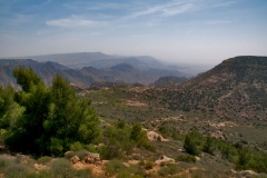 Dana Naturreservat in Jordnien