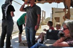"""Zwischenstop an einem """"Raststätte"""" am Wadi Mujib"""