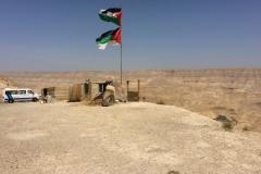Zwischenstopp an einem palästinensischen Rastplatz